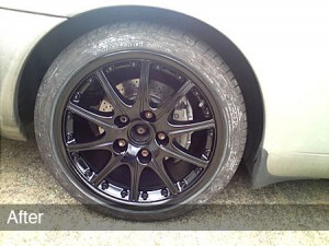 alloy wheel colour customisation