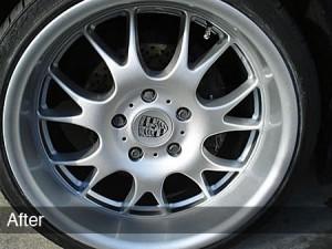 alloy wheel customisation