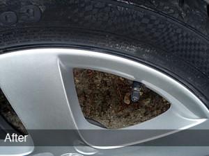 alloy wheel scuff repair